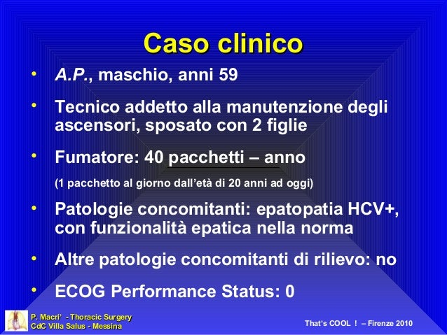 P. Macri'P. Macri' - Thoracic Surgery- Thoracic Surgery CdC Villa Salus - MessinaCdC Villa Salus - Messina That's COOL ! –...