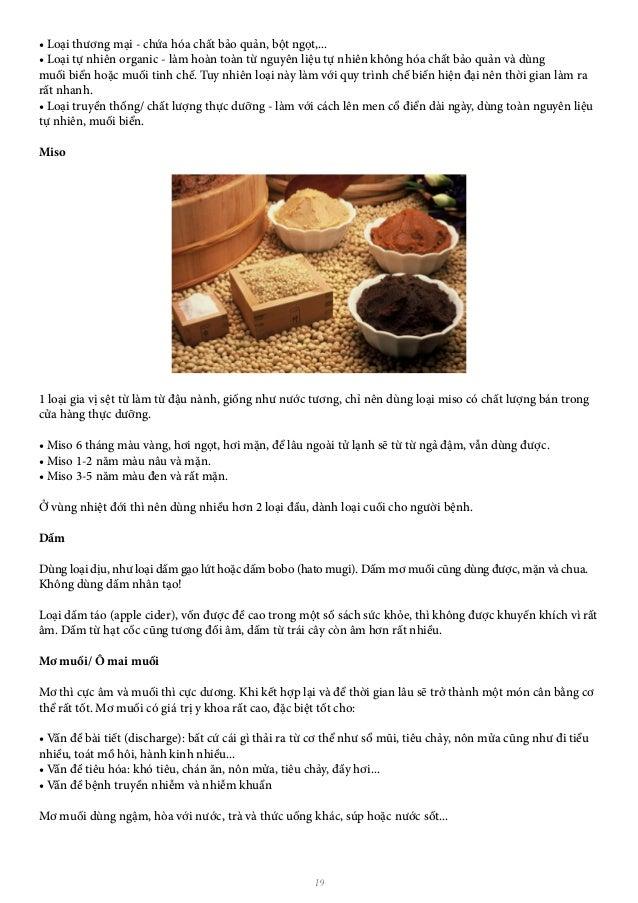 19 • Loại thương mại - chứa hóa chất bảo quản, bột ngọt,... • Loại tự nhiên organic - làm hoàn toàn từ nguyên liệu tự nhiê...