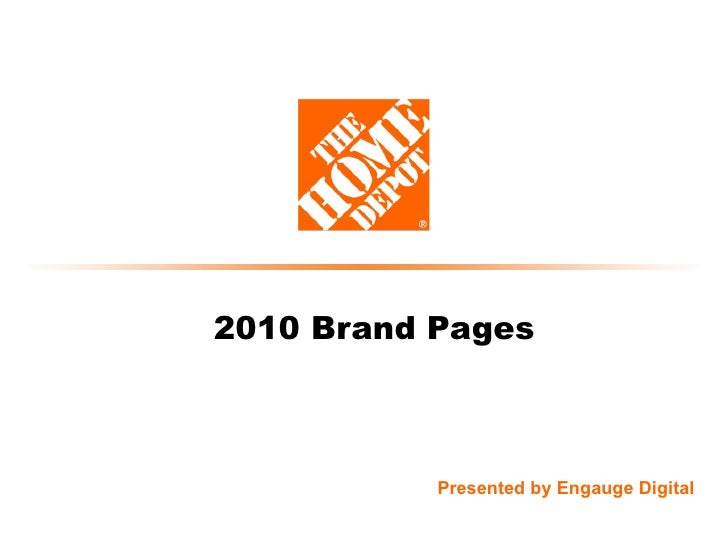 2010 Brand Pages Presented by Engauge Digital