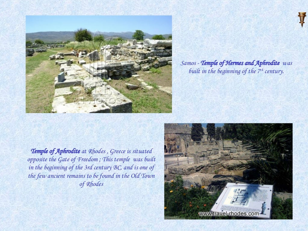 Samos Temple Of Hermes