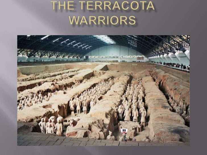 Are a set of over 7000 figures of terracotta warriorsand horses in real size, which were buried near theself-proclaimed fi...