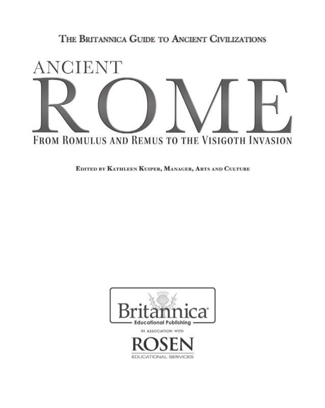 The.britannica.guide.to.ancient.civilizations ancient.rome
