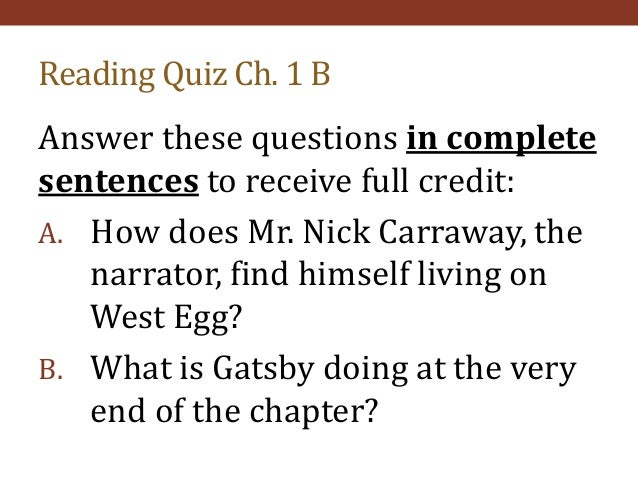 nick carraway as an unreliable narrator essay The story of the great gatsby by f scott fitzgerald is about a man, named nick carraway, who moved to long island's north shore to work as a government corporate-bond trader at wall street he is the neighbor of a very wealthy and popular man, named jay gatsby—who is deeply and hopelessly in love with nick's second cousin, daisy.