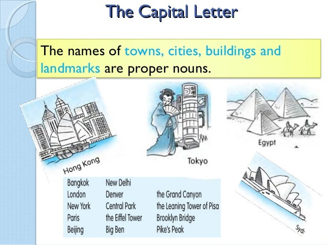 The capital letter