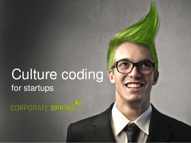 Culture coding for startups