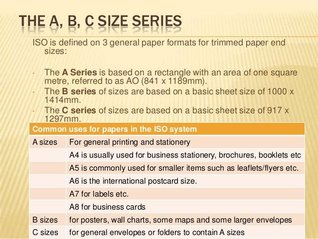 The history of uk size papers sizes 8 reheart Gallery