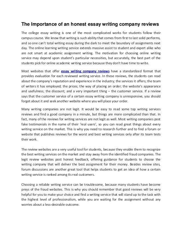 why writing is important essay the importance of an honest essay  the importance of an honest essay writing company reviews the importance of an honest essay writing