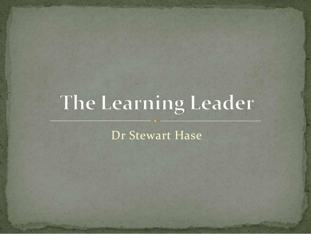 Dr Stewart Hase