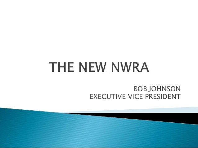 BOB JOHNSON EXECUTIVE VICE PRESIDENT