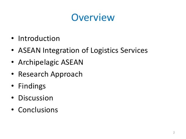 The role of archipelagic countries in asean logistics final Slide 2