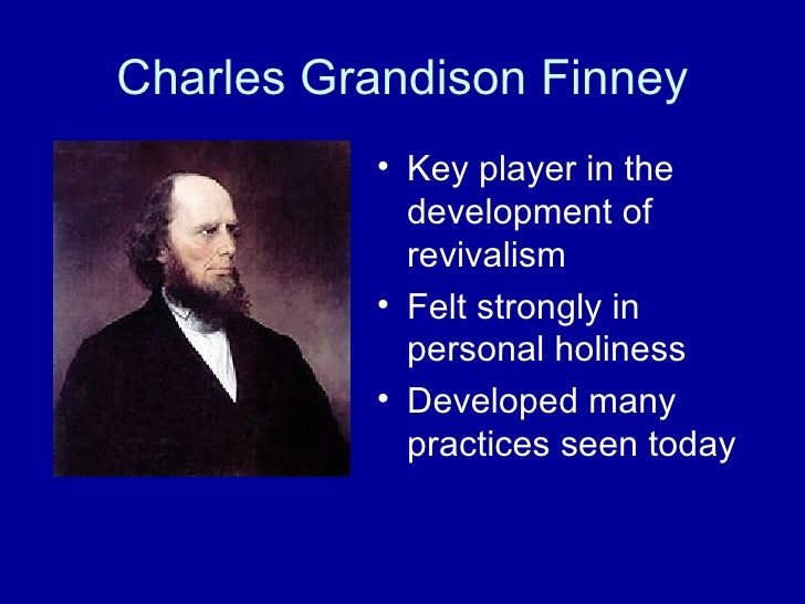 charles finney the great revivalist