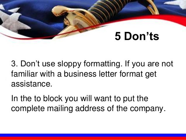 the 5 do u0026 39 s and don u0026 39 ts in preparing the perfect cover letter