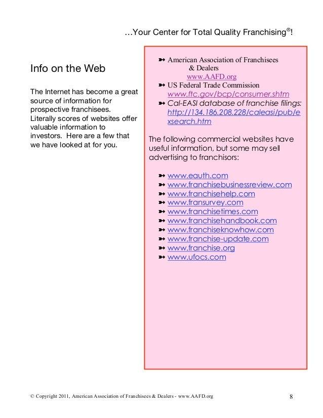 Bonds Franchise Guide 2004: The Franchise Industr