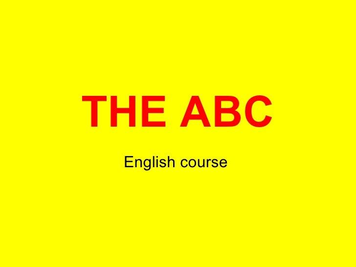 THE ABC English course