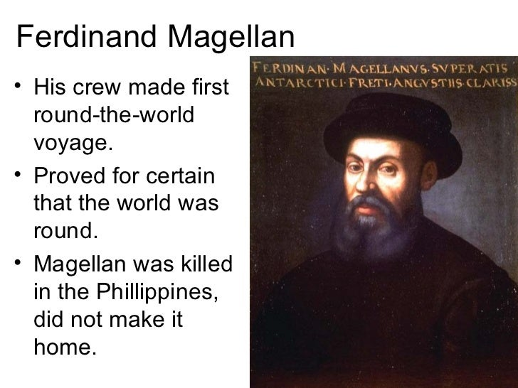 discovery christopher columbus and ferdinand magellan The grandson of king ferdinand and queen isabella, who had funded columbus' expedition to the new world in 1492, received magellan's petition with the same favor shown by his grandparents.