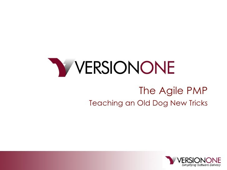 The Agile PMP Teaching an Old Dog New Tricks