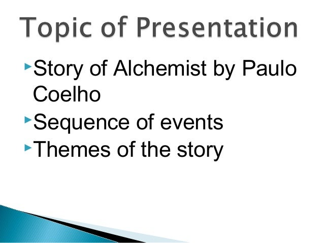 the alchemist introduction story 4