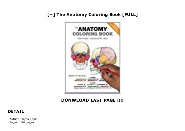 - The Anatomy Coloring Book [FULL]