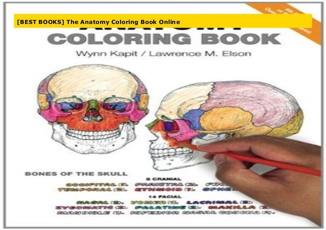 - BEST BOOKS] The Anatomy Coloring Book Online