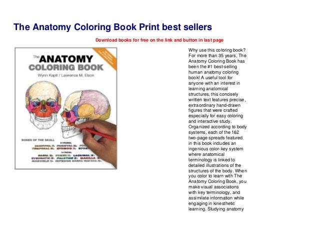 The Anatomy Coloring Book Print Best Sellers