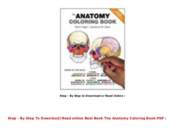 Best Book The Anatomy Coloring Book PDF
