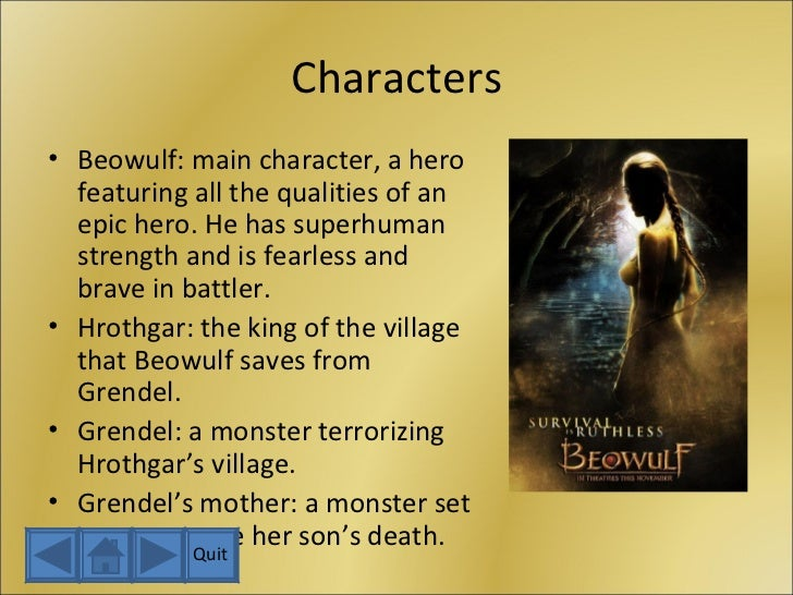 the expression of courage and superhuman strength in beowulf