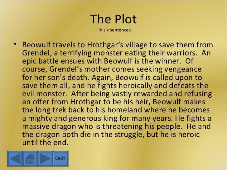 beowulf novel summary