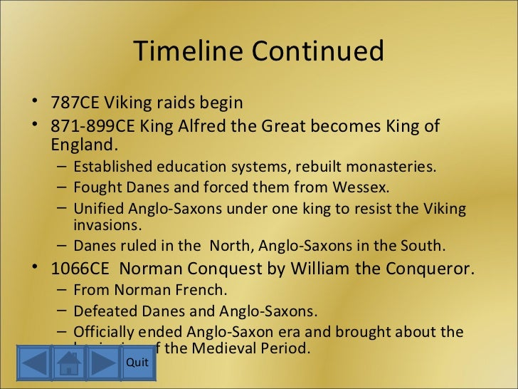 an overview of the kings that ruled in the anglo saxon period After the conversion of the influential king the anglo-saxon or old english among the literary works representative of this later period of old english.