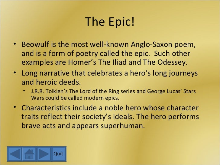 an analysis of good and evil in the epic of beowulf Beowulfconcepts of good and evil presented in beowulf does this reveal anything about anglo-saxon society beowulf is the greatest surviving old english poem, an epic that recounts the main events in the life of a legendary hero named beowulf.