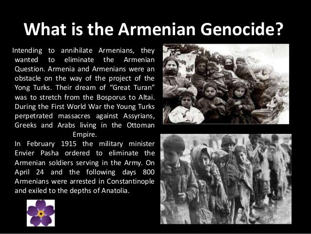 a history of the armenian genocide