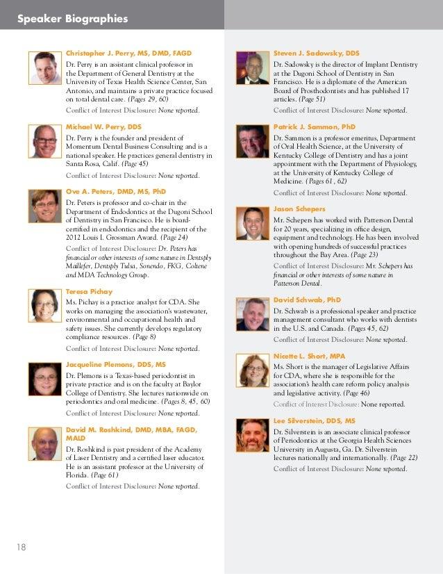 Thalia sanchez for Dentist biography template
