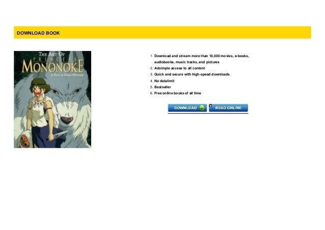 P D F The Art Of Princess Mononoke For Kindle