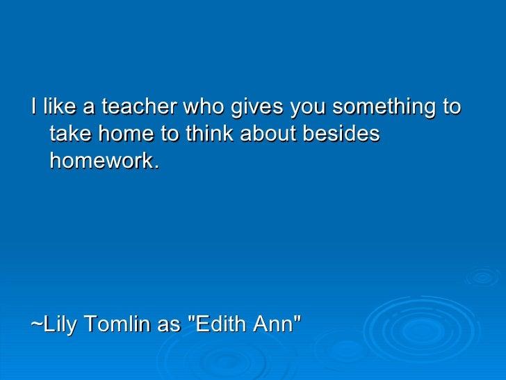 The Art of Teaching Slide 2