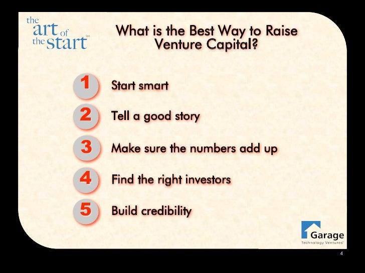 The Art of the Raising Capital