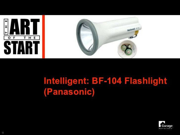 Intelligent: BF-104 Flashlight      (Panasonic)    13