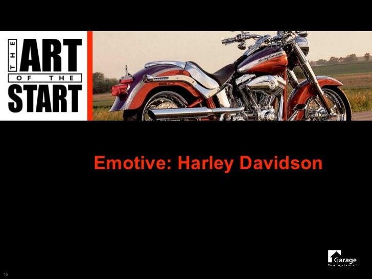 Emotive: Harley Davidson     16