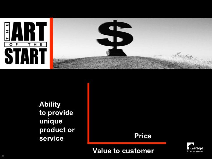 Ability      to provide      unique      product or                              Price      service                   Valu...