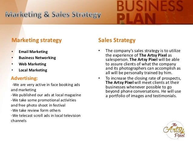 Business Plan: Photography Business (Slides)