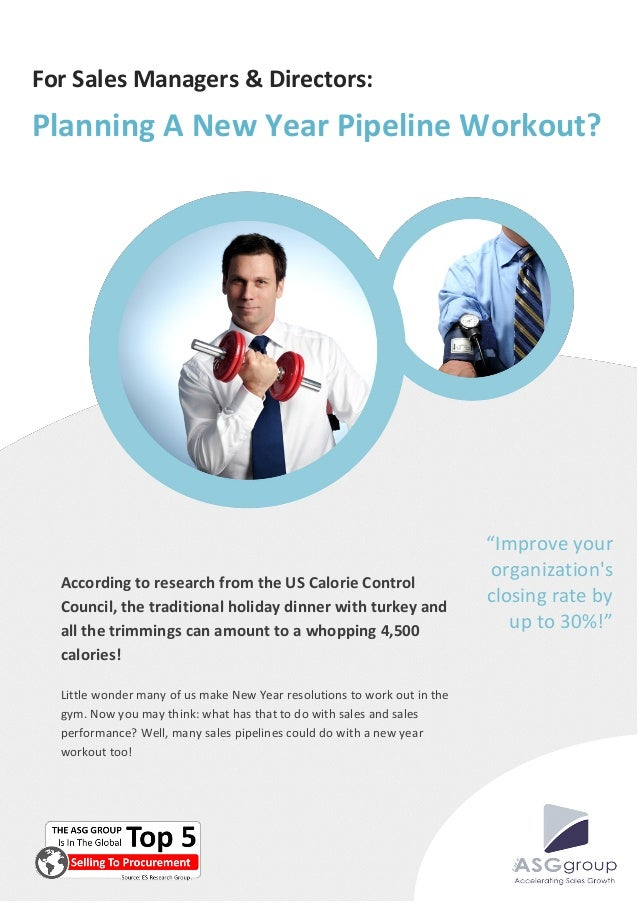 For Sales Managers & Directors:Planning A New Year Pipeline Workout?                                                      ...