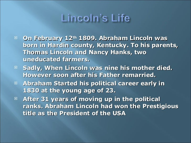 an analysis of the assassination of abraham lincoln A summary of 1861-1865 - in the white house, assassination in 's abraham lincoln learn exactly what happened in this chapter, scene, or section of abraham lincoln.