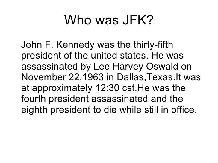 The Assassination Of John F