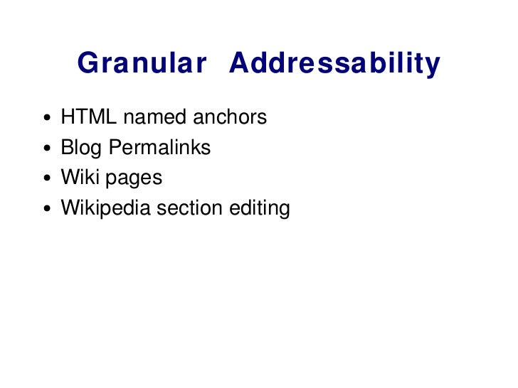 The Augmented Wiki Slide 3