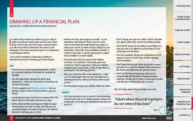 E-Book: The BDO Wealth Advisers Guide to Talking about Money