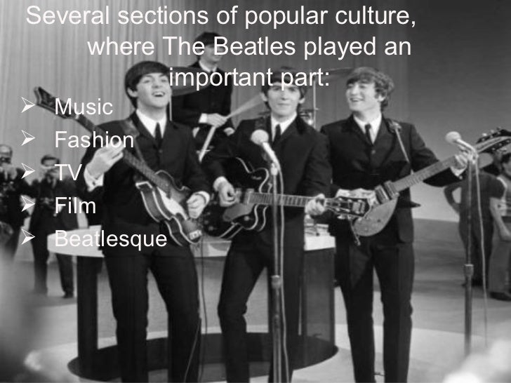 beatles influence society essay