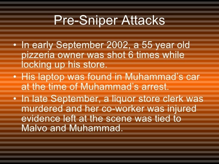 The Beltway Snipers