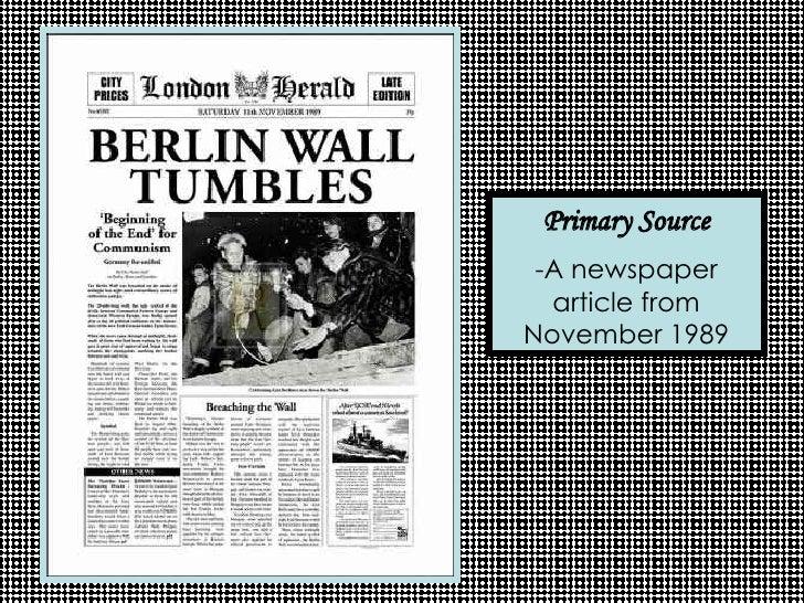Essay: The Berlin Wall