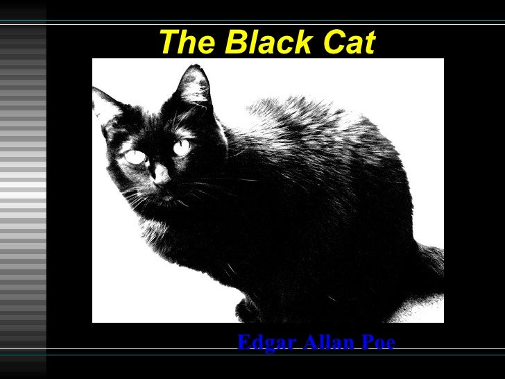 "an analysis of edgar allan poes the black cat The black cat"" by edgar allan poe, the narrator, never being identified, states that he is sane he goes on to say that he is kind and respects the fidelity of friendship."