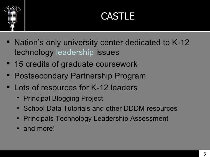 The Blogging Administrator Slide 3