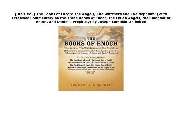 BEST PdF] The Books of Enoch: The Angels, The Watchers and