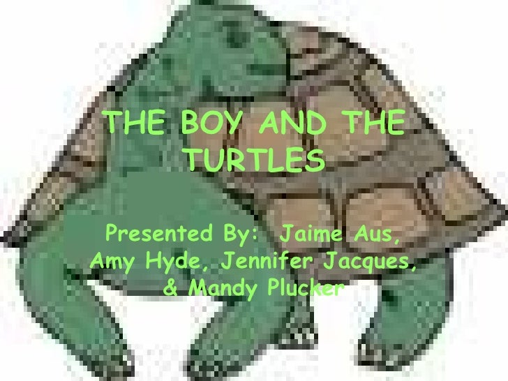 THE BOY AND THE TURTLES Presented By:  Jaime Aus, Amy Hyde, Jennifer Jacques, & Mandy Plucker